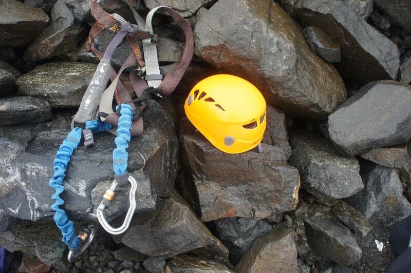 Östra leden klättring kebnekaise