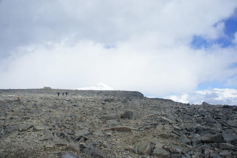 Toppstugan västra leden bestiga kebnekaise