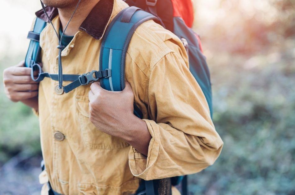 Stabila vandringsskor och support