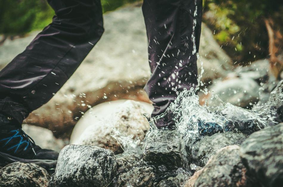 Vandringsskor vattentäta